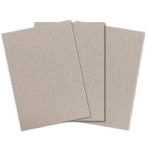 Einlagekarton Brieger 82311, A4 210x297 mm, 600 gm2, grau, Pk. à 100 Stk.