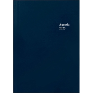 Agenda Simplex 40090, 1 Tag pro Seite, A5, blau
