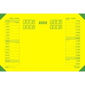 Schreibunterlage Simplex Eye Ease 40410, 1 Blatt pro Monat, gelb