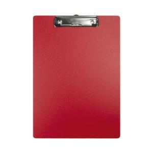 Schreibplatte Biella Scripla 349400 A4, Klemme auf der Schmalseite, rot