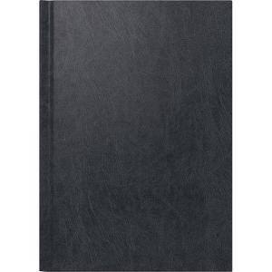 Agenda A5, 1 Tag pro Seite, schwarz