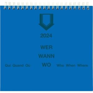 Wochenplaner Wer-Wann-Wo SP21108, 1 Woche pro Seite