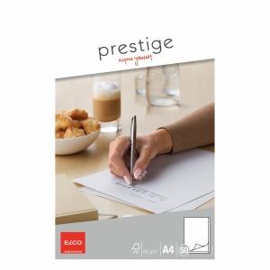 Schreibblock Elco Prestige 73711.14 A4, 80 g/m2, blanko, 50 Blatt