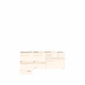 Einzahlungsschein Simplex 38433 A4, orange, gerahmt, BESR, Pk. à 1000 Stk.