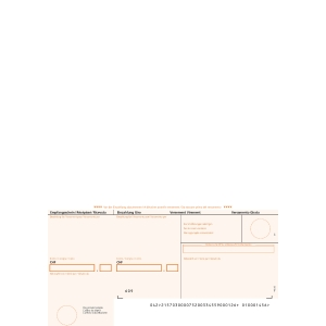 Einzahlungsschein Simplex 38423 A4, orange, gerahmt, ESR, Pk. à 1000 Stk.