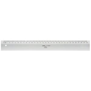 Massstab Linex Acryl, 30 cm, transparent
