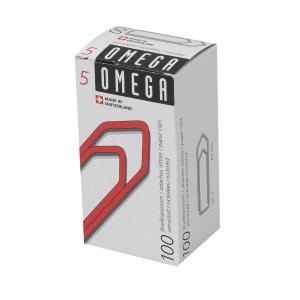 Büroklammern Omega 5/100, 43 mm, Packung à 100 Stück