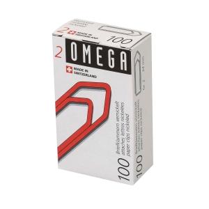 Büroklammern Omega 2/100, 24 mm, Packung à 100 Stück