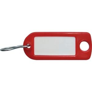 Schlüssel-Schilder Typ 8034FS, rot, Packung à 100 Stück