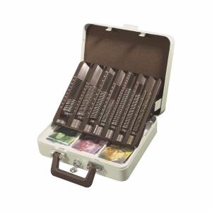 Geldkassette Rieffel Argenta 7CC-CH, inkl. Münzeinsatz und 3tlg. Notenfach
