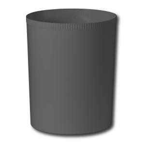 Papierkorb Ornalon,21 l, Kunsstoff, schwarz