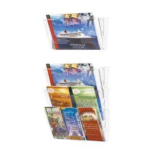 Wandfach BoOffice Plexiglas, A4 quer, transparent