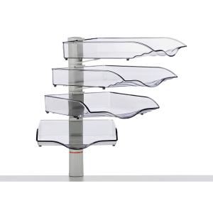 Schwenkflügler Novus Copy Swinger, 4er- Set, grau/transparent