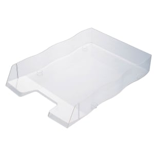 Briefkorb Styrofile, C4, transparent