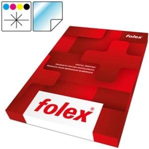 Folien Folex CLP, A4, Farblaser/ -Kopierer, klar, selbstklend, Pk. à 50 Stk.