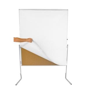 Moderationswandpapier Berec Design, 140x110 cm weiss, Packung à 100 Bögen