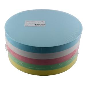 Moderationskarten, Kreise 18,5 cm, Farben ass., Pk. à 500 Stk.