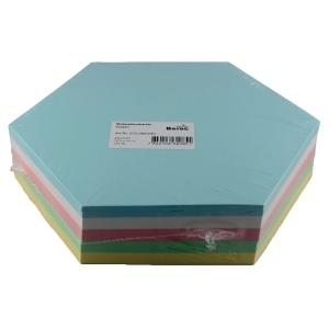 Moderationskarten, Waben 16,5x19 cm, Farben ass., Pk. à 250 Stk.