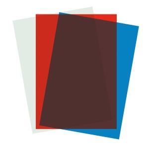 Umschlagdeckel Kolma 68200 A4, 0,2 mm, farblos, Packung à 200 Stück