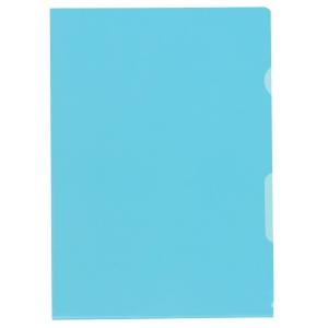 Sichtmappe Kolma Visa Dossier, A4, PP, blau, Packung à 100 Stück