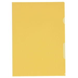 Sichtmappe Kolma Visa Dossier, A4, PP, gelb, Packung à 100 Stück