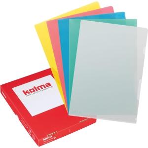 Sichtmappe Kolma Visa Dossier, A4, PP, assortiert, Packung à 100 Stück