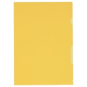 Sichtmappe Kolma Visa Dossier 59434 A4, PP, gelb, Packung à 100 Stück