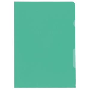 Sichtmappe Kolma A4 59744 A4, PP, grün Packung à 100 Stück