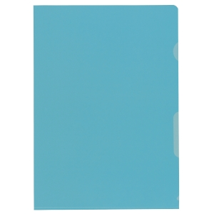 Sichtmappe Kolma, A4, PP, blau, Packung à 100 Stück