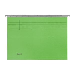 Hängemappe Biella Original 271425 A4, 25 cm tief, grün, Packung à 50 Stück