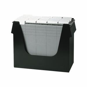 Hängemappenbox Ornalon, B360xT160xH272 mm, schwarz