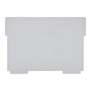 Schwenkplatte zu Karteikasten Styro A5 quer, grau, Packung à 2 Stück