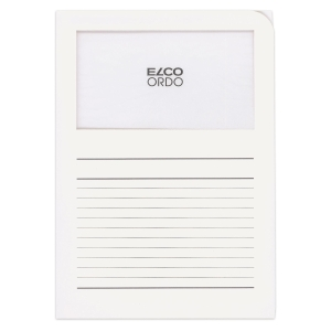 Organisationsmappe Elco Ordo Classico 73695, weiss, Packung à 10 Stück