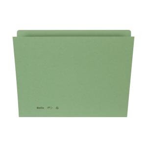 Einlagemappe für A4 31,7x22/23,5 cm, 240 g/m2, grün, Pk. à 100 Stk