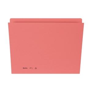 Einlagemappe für A4 31,7x22/23,5 cm, 240 g/m2, rosa, Pk. à 100 Stk