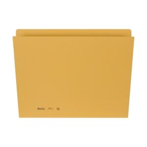 Einlagemappe für A4 31,7x22/23,5 cm, 240 g/m2, gelb, Pk. à 100 Stk