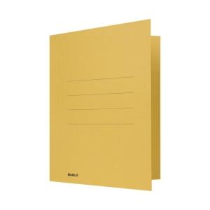 Juramappe Biella für A4, Karton, 320 g/m2, gelb
