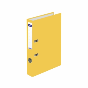 Ordner Lyreco Swiss Standard A4, 4 cm, gelb
