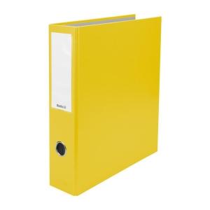 Ordner Biella Dinor Quatro 126447 A4, 7 cm, 4 Ringe, gelb