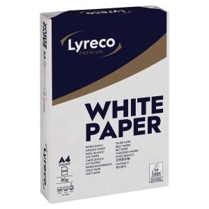 Kopierpapier Lyreco Premium A4, 80 g/m2, 1/2 Palette à 50 000 Blatt