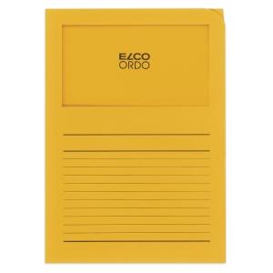 Organisationsmappe Elco Ordo Classico 29489, bedruckt, goldgelb, Pk. à 100 Stk.