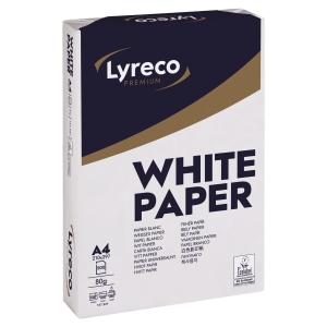 Kopierpapier Lyreco Premium A4, 80 g/m2, 1/4 Palette à 25 000 Blatt