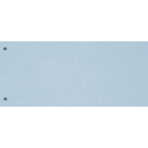Trennstreifen Exacompta 240x105 mm, Karton 190 g/m2, blau, Pk. à 100 Stk.