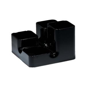Multi-Köcher Arlac Uni-Butler, schwarz