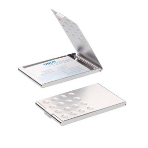 Visitenkartenbox Durable 244023, aus verchromtem Hartmetall