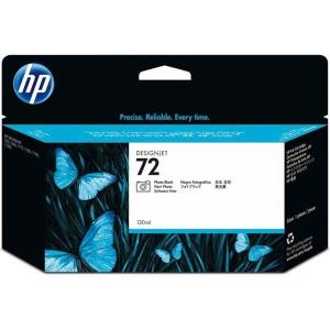 Tintenpatrone HP No.72 C9370A, 15000 Seiten, photo-schwarz