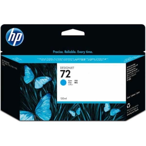 Tintenpatrone HP No.72 C9371A, 15000 Seiten, cyan