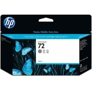 Tintenpatrone HP No.72 C9374A, 15000 Seiten, grau