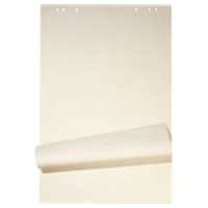 Flipchart-Block, 67x95 cm, 20 Blatt, blanko/kariert, 80 g, gerollt, Pk. à 5 Stk.