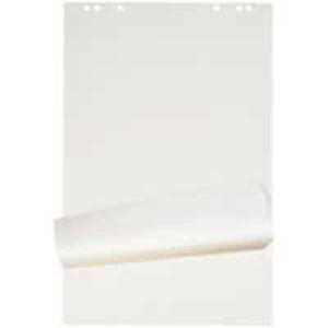 Flipchart-Block, 67x95 cm, 20 Blatt, blanko 90 g, gerollt, Packung à 5 Stück